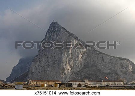 Stock Photo of Rock of Gibraltar x75151014.