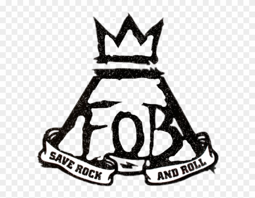 Fall Out Boy Save Rock And Roll Logo Clipart (#1831278.