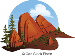 Outcropping Clipart and Stock Illustrations. 12 Outcropping vector.