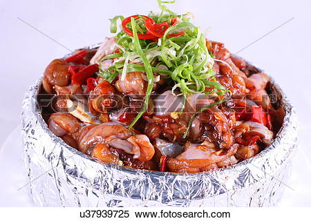 Stock Image of fried rock partridge u37939725.