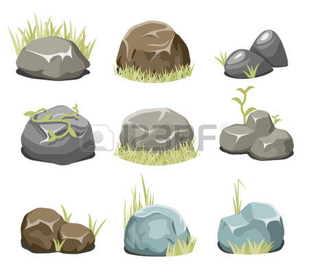 5,654 Rock Plant Stock Illustrations, Cliparts And Royalty Free.