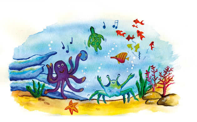 A Day in the Life of a Sea creature.