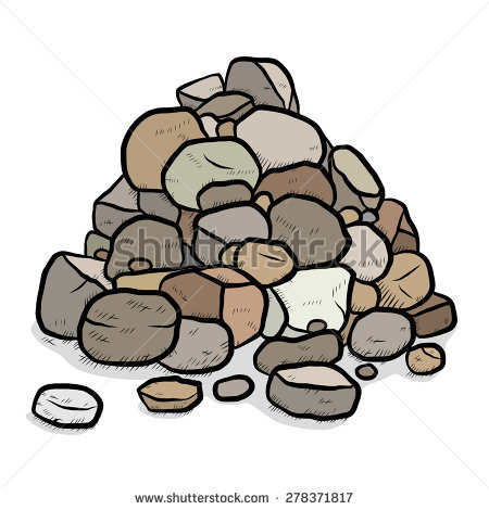Rock Pile Stock Photos, Royalty.