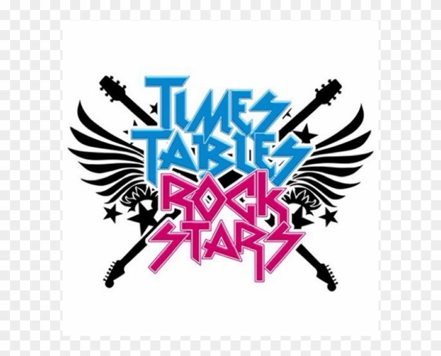 Times Table Rockstars Logo Clipart (#3733343).