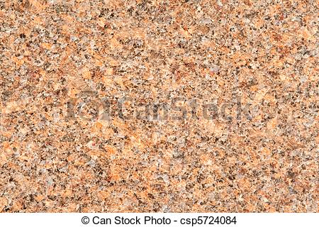 Stock Photo of Full Frame Close Up Highly Polished Pink Granite.