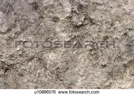 Stock Images of Rough rock surface, close up u10886576.