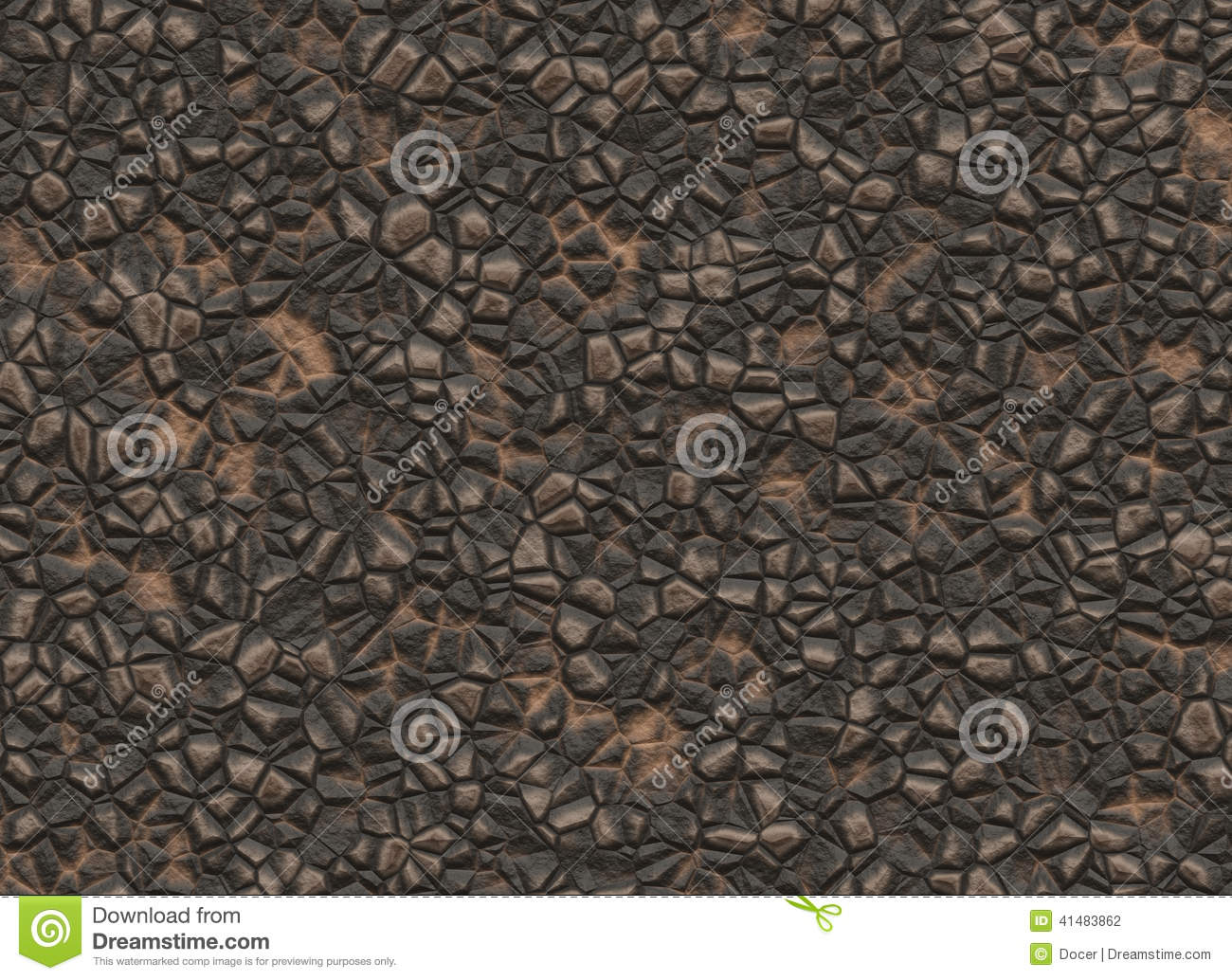 Natural Solid Rock Uneven Surface Texture Stock Illustration.