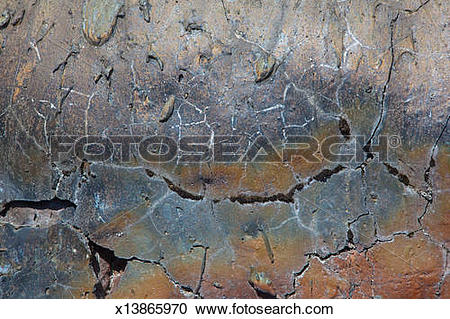 Stock Photography of Lava rock surface patterns x13865970.