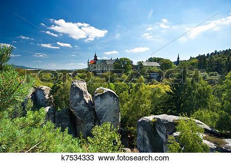 Stock Photo of Rock Town in Bohemian Paradise k7534333.