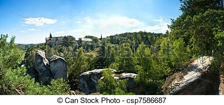 Picture of Rock Town in Bohemian Paradise csp7586687.