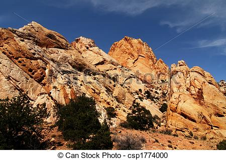 Stock Photography of Red, Rock, national, park, Moab, Southern.