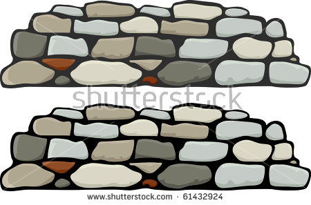 Stone Wall Stock Images, Royalty.