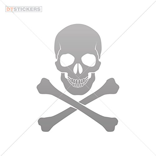 Buy Decoration Vinyl Sticker Crossbone Skull Decoration Motorbike.
