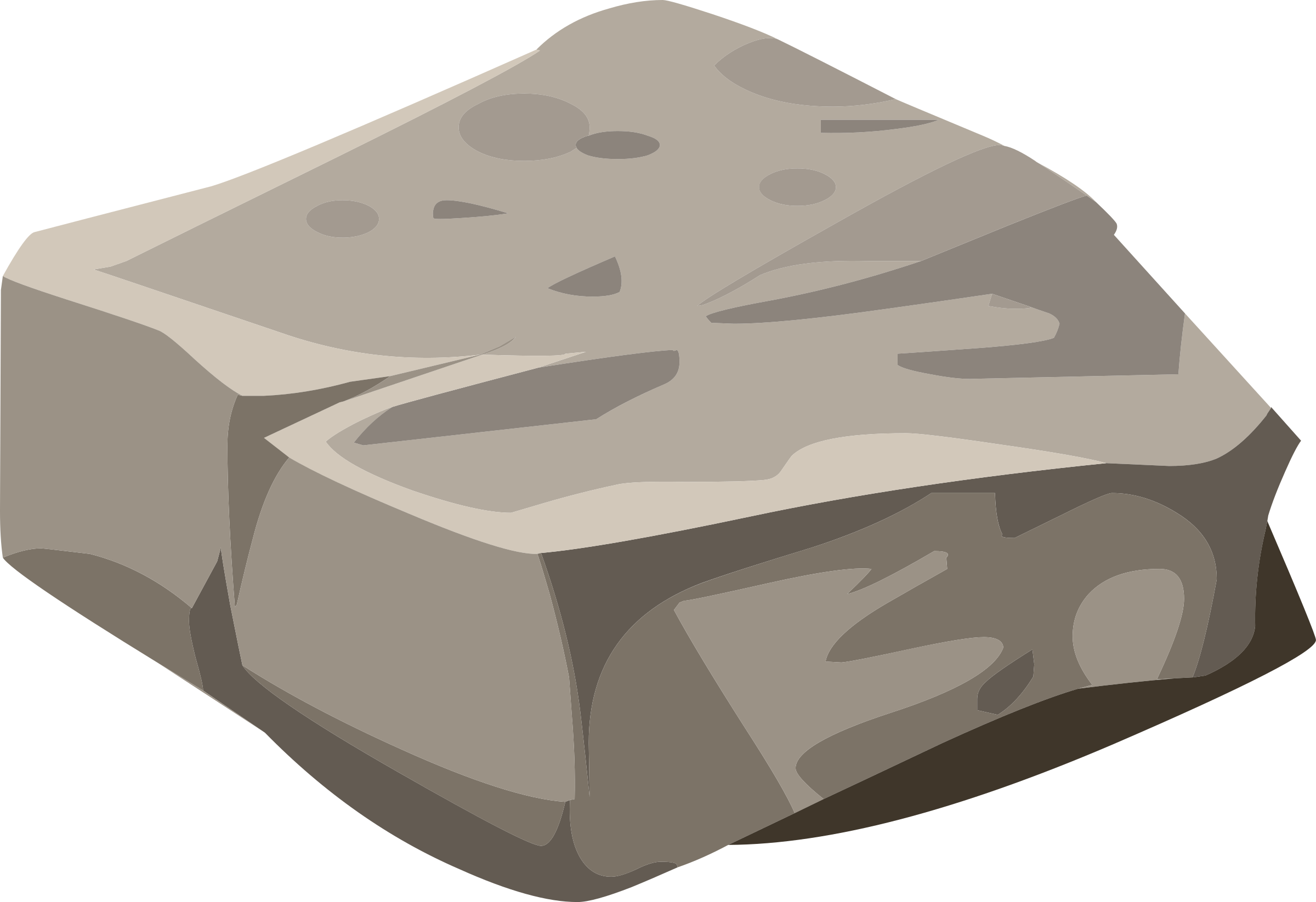 Clip art of a rock.
