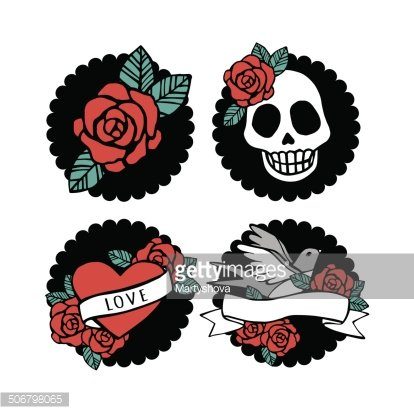 Rockabilly premium clipart.