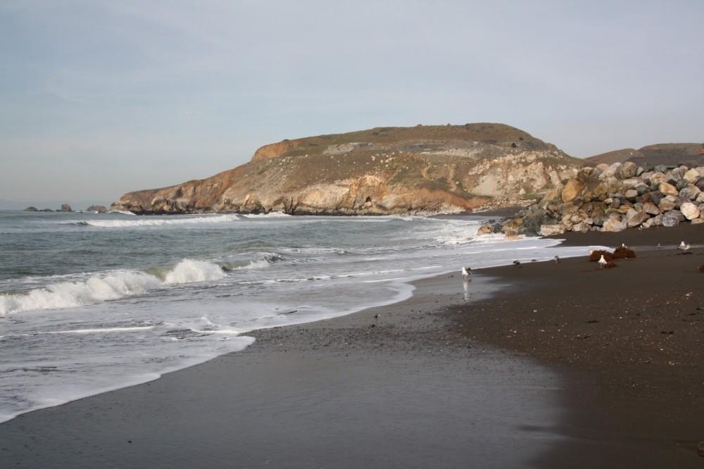 Rockaway Beach, Pacifica, CA.