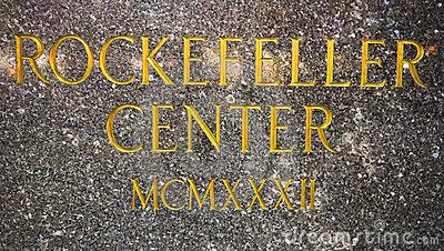 Rockefeller Center Royalty Free Stock Image.