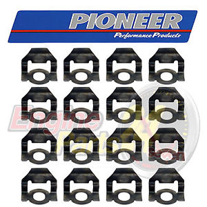 FORD 302 351 CLEVELAND ROCKER ARM OIL DEFLECTOR SET OF 16 PIONEER.