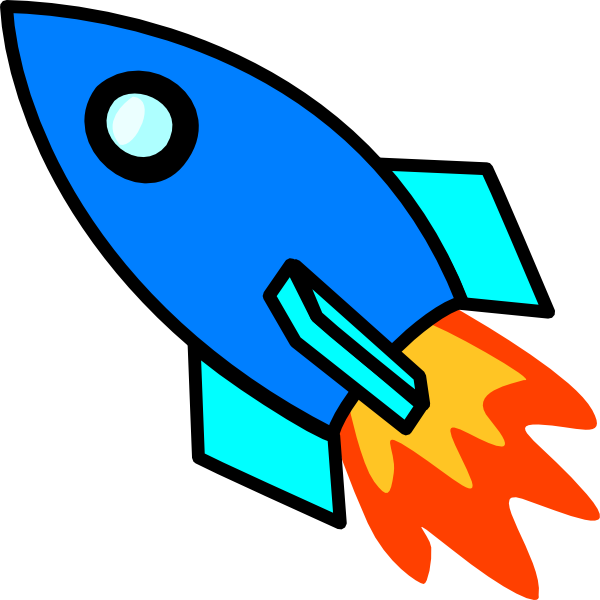 Free cartoon rocket ship clip art free rocket clipart free.