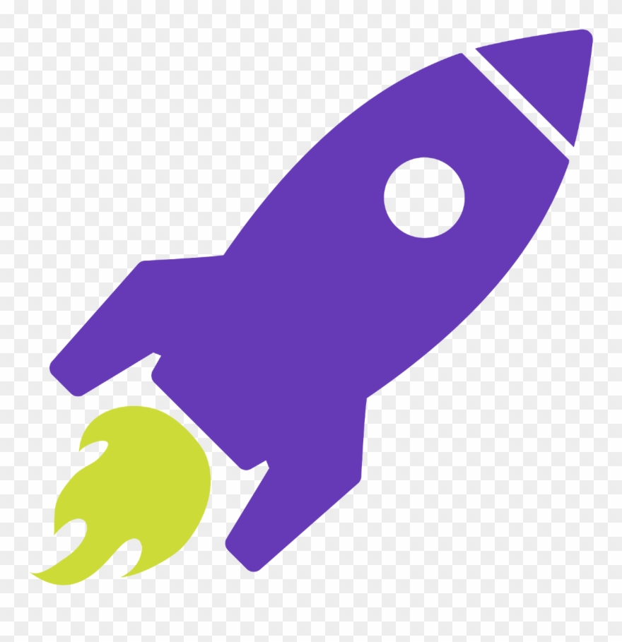 Rocket Icon Transparent Background Clipart (#1091668.