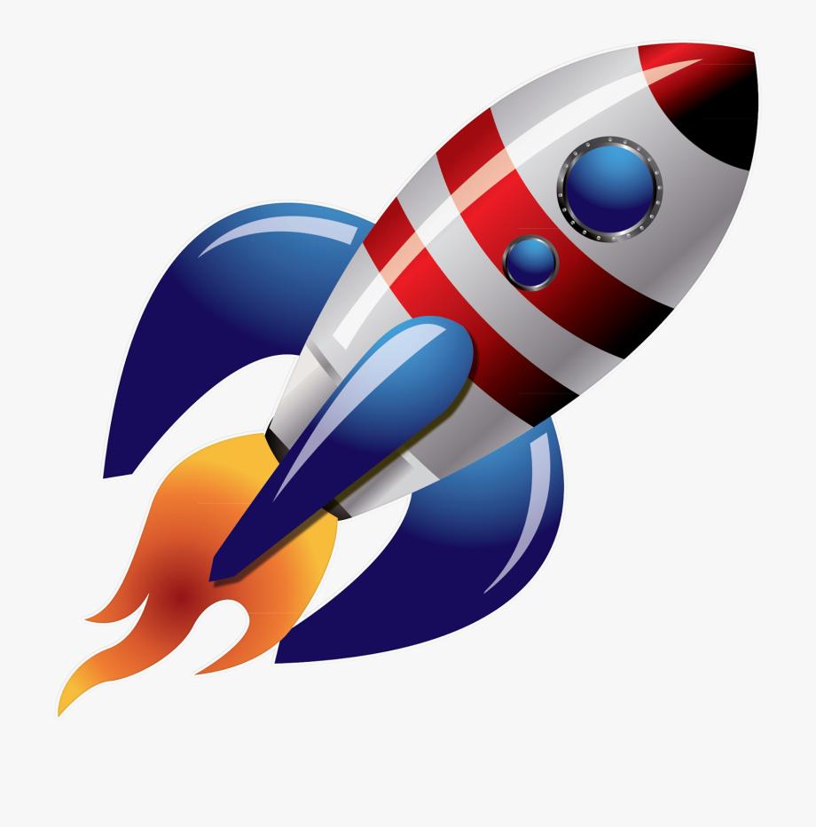 Space Rocket Png Image Transparent Background.