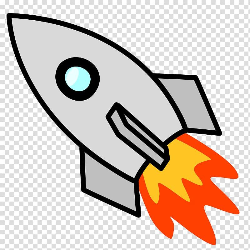 Rocket Spacecraft , Rocket Ship transparent background PNG.