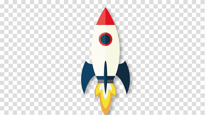 White, blue, and red rocket , Rocket Icon, rocket.
