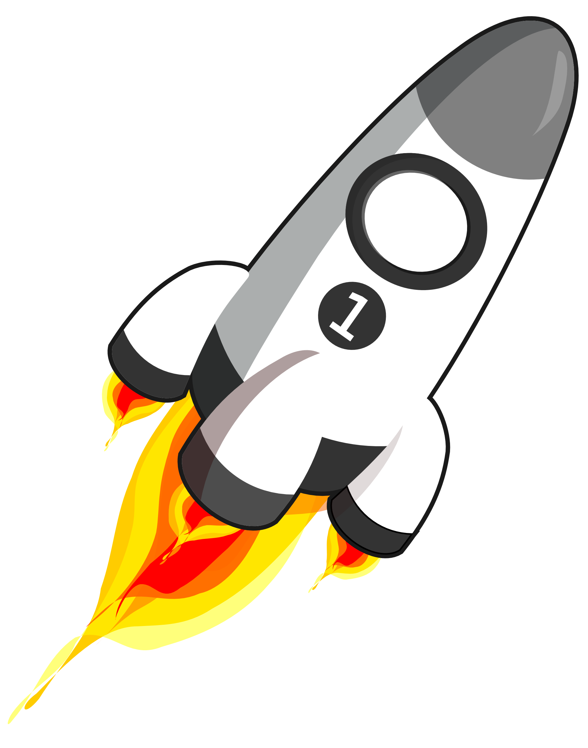 Rocket Clipart No Background.