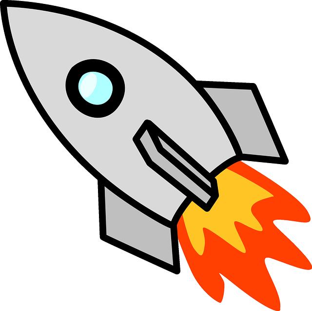 Free vector graphic: Spaceship, Rocket Ship, Launch.