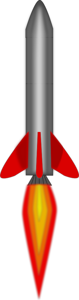 Rocket Engine Clipart.