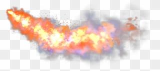 Jet Flames Png.
