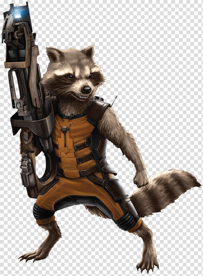 Guardians of The Galaxy Rocket Racoon illustration, Rocket.