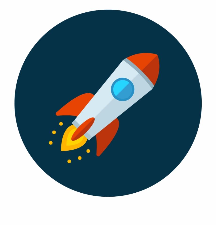 Rocket Icon Vector.