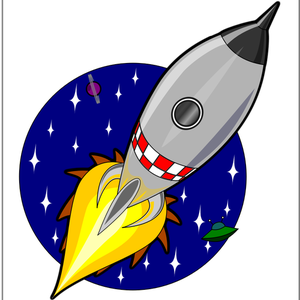 440 rocket launch clip art images.
