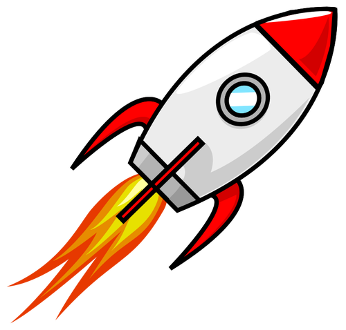 207 rocket launch clip art.