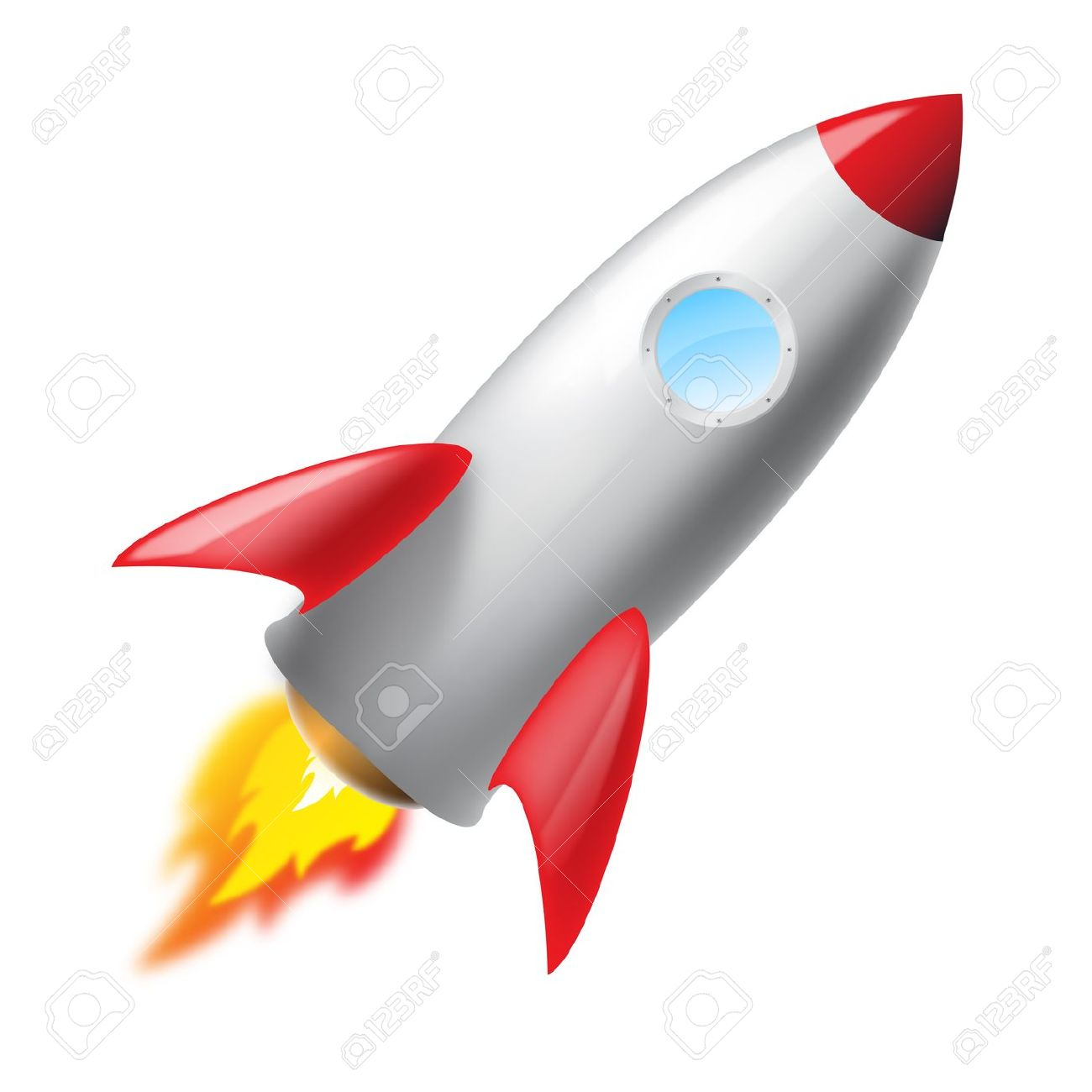 Rocket launch clipart 2 » Clipart Station.