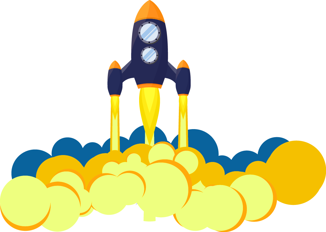 Clipart Rocket Rocket Launch.