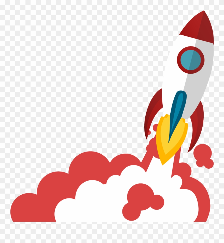 Launching Rocket Png , Png Download.