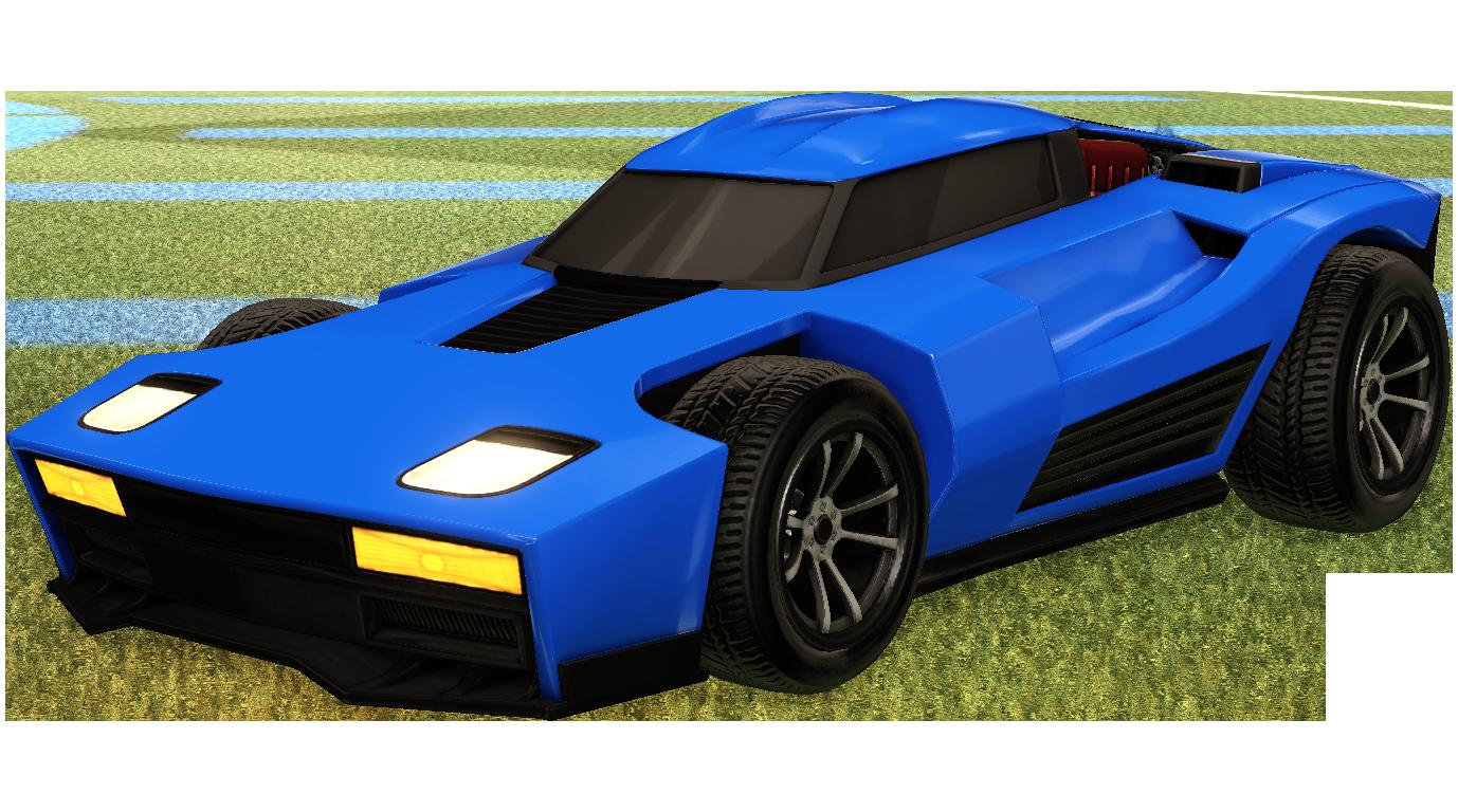 Rocket League Portable Network Graphics Car Image.