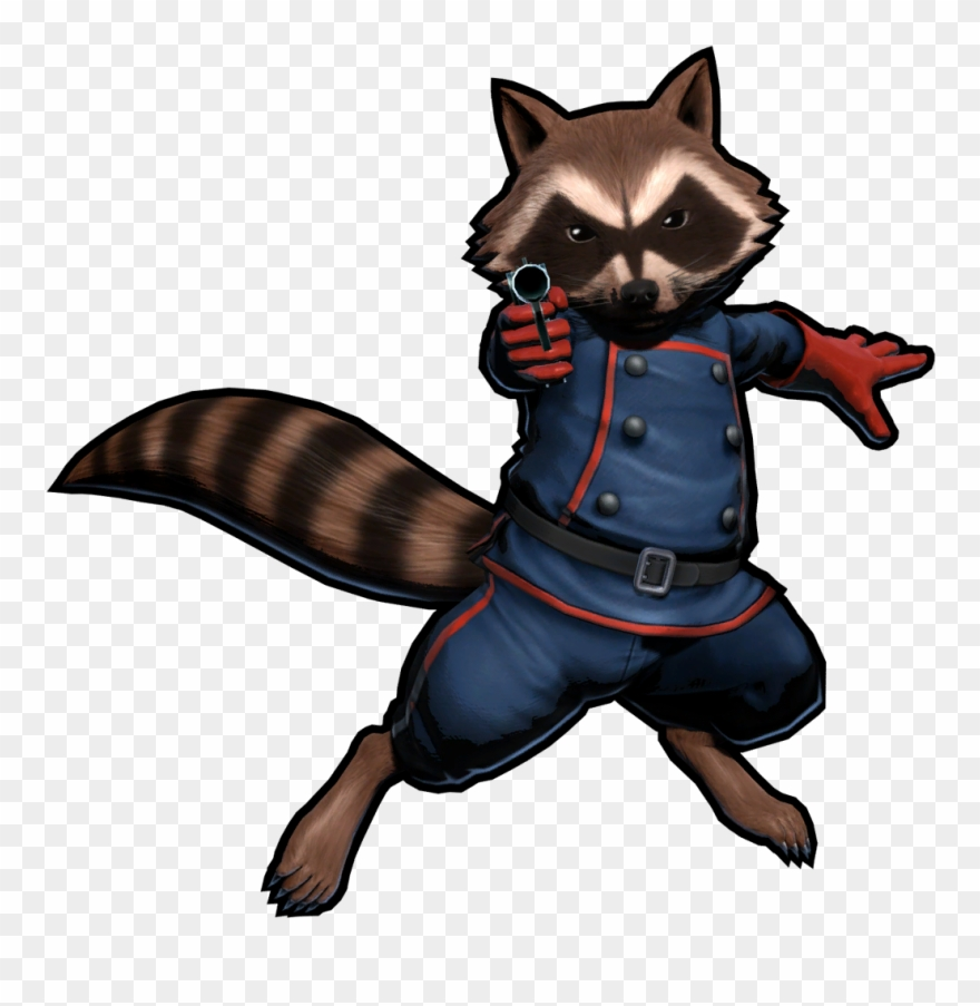 Rocket Raccoon Clipart Marvel.