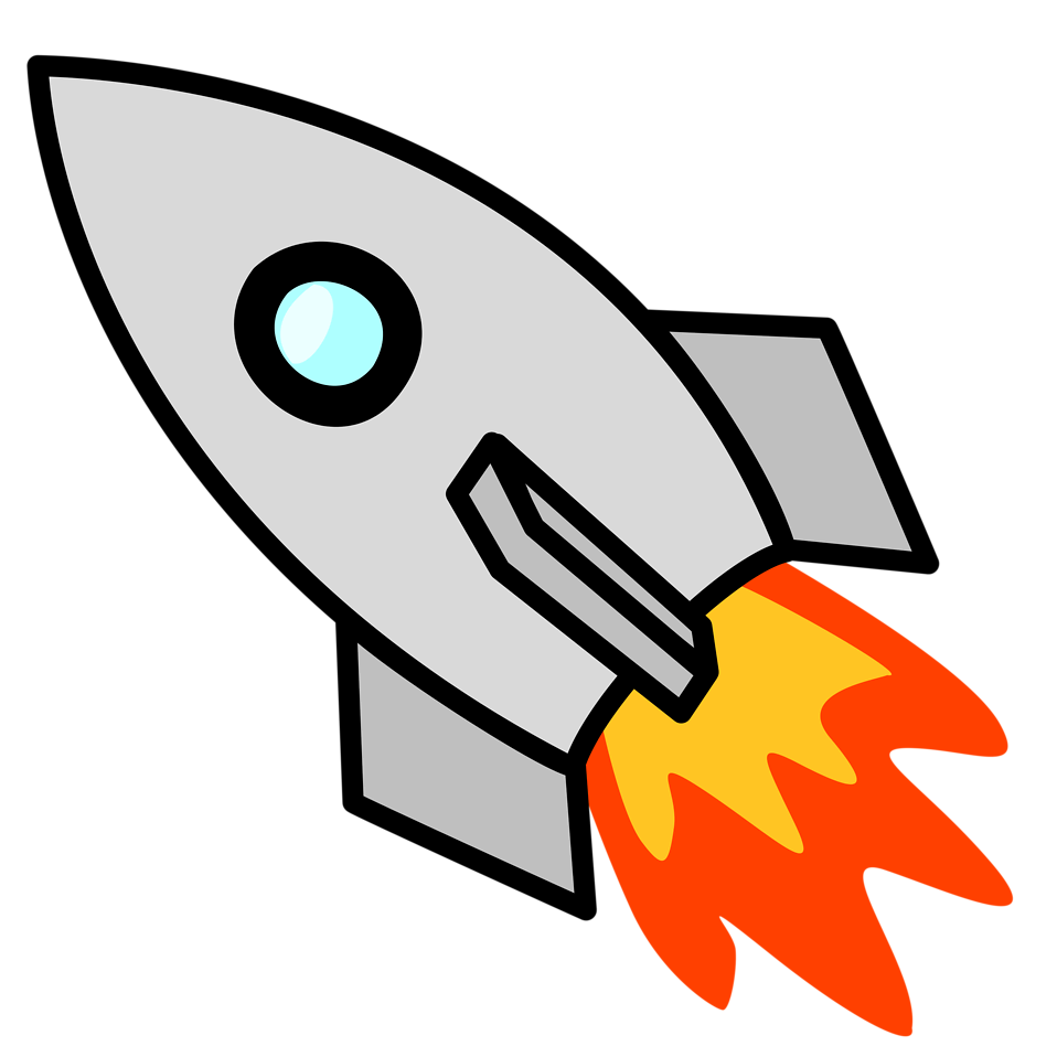 Fast clipart rocket science, Fast rocket science Transparent.
