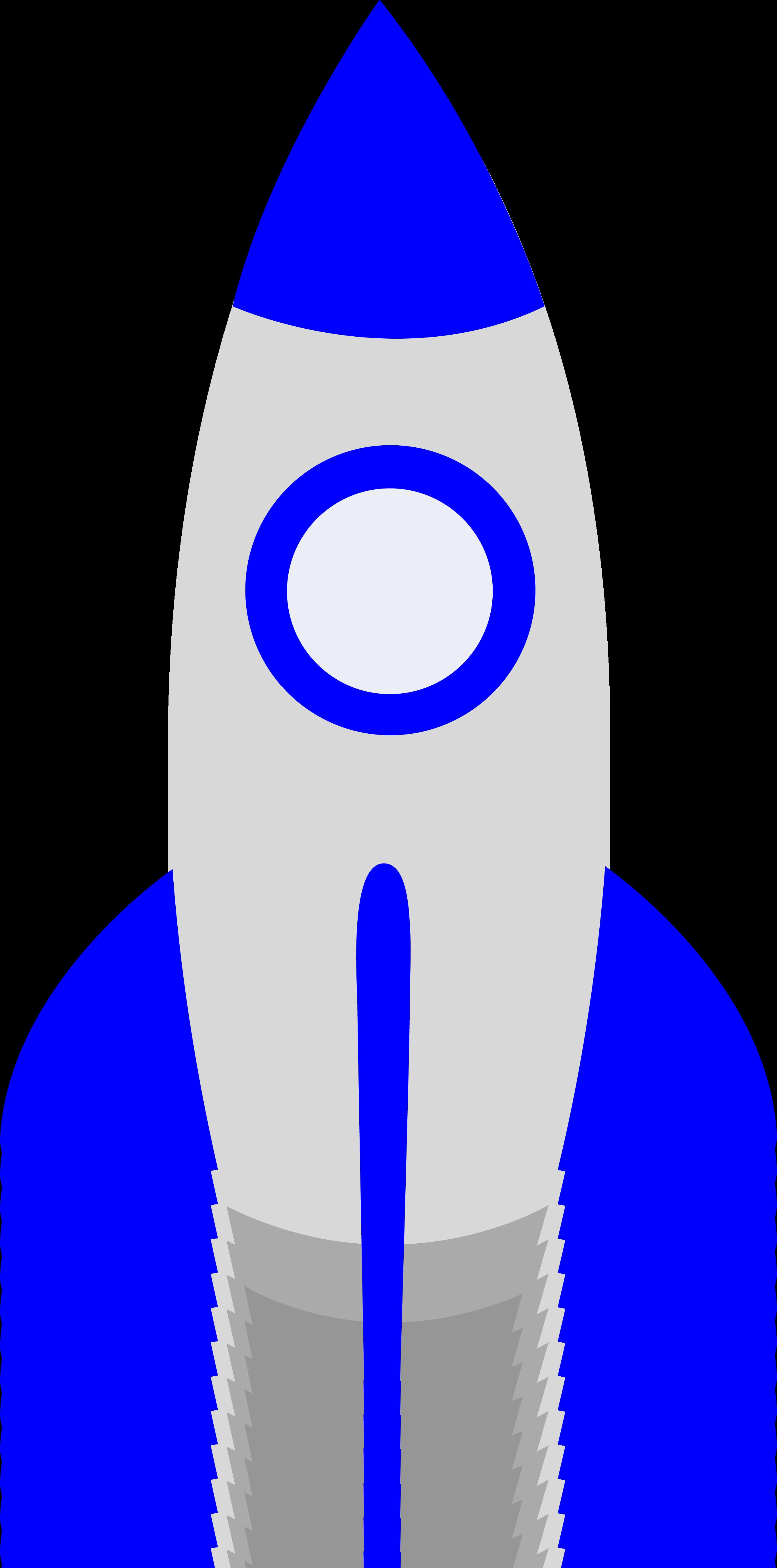 rocket shaped clipart