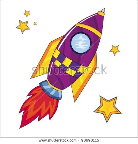 Rocket Blast Off Stock Photos, Royalty.