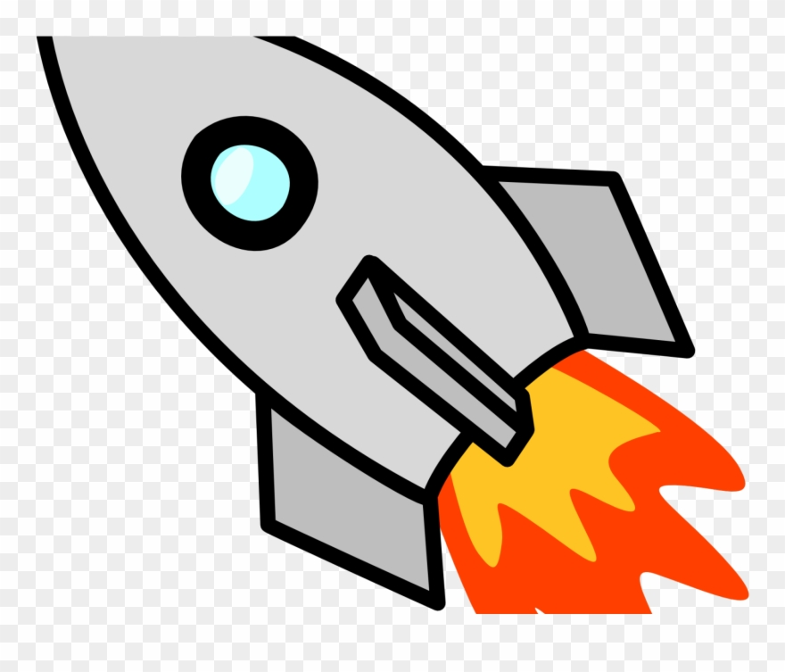 Fire Flames Clipart Rocket Ship.
