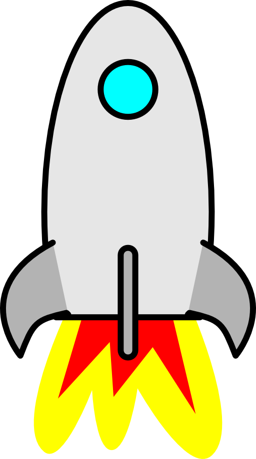 Rocket Ship Clipart Free.