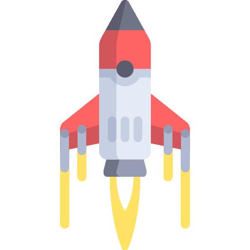 Rocket Ship Png #75602.