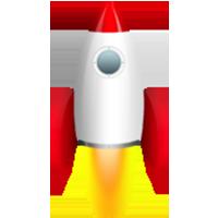 Rocket Ship In Png #30449.
