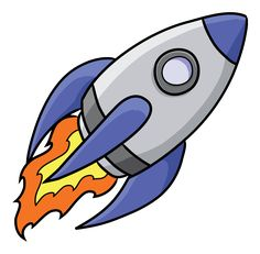 Rocket Ship Clip Art Free.