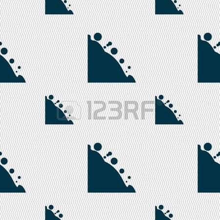 262 Rockfall Stock Vector Illustration And Royalty Free Rockfall.