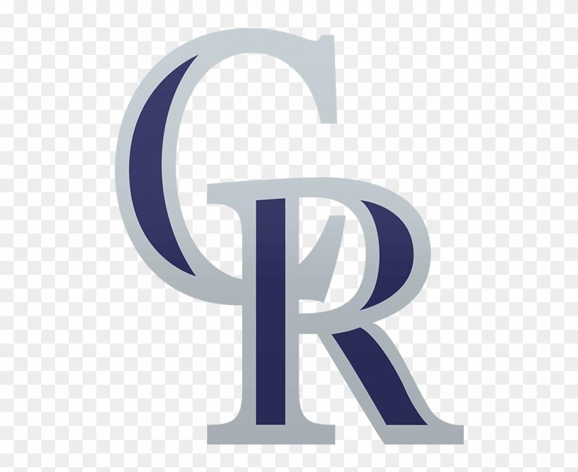 Colorado Rockies Cr Logo, HD Png Download.